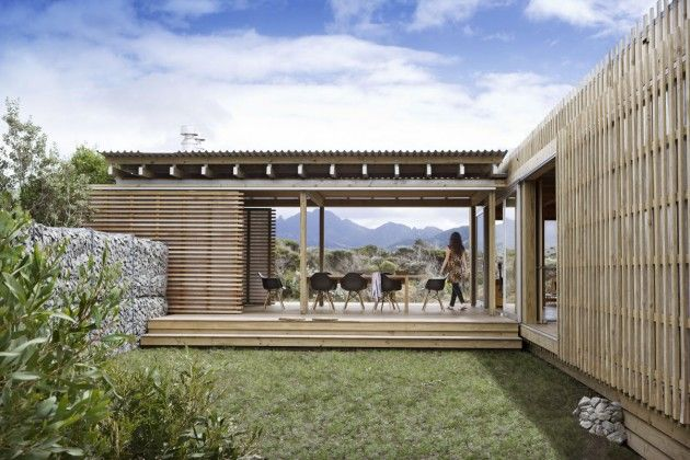 Superb Stunning Modern Wood Structure Vacation House On Great Barrier Island, New  Zealand Design Inspirations