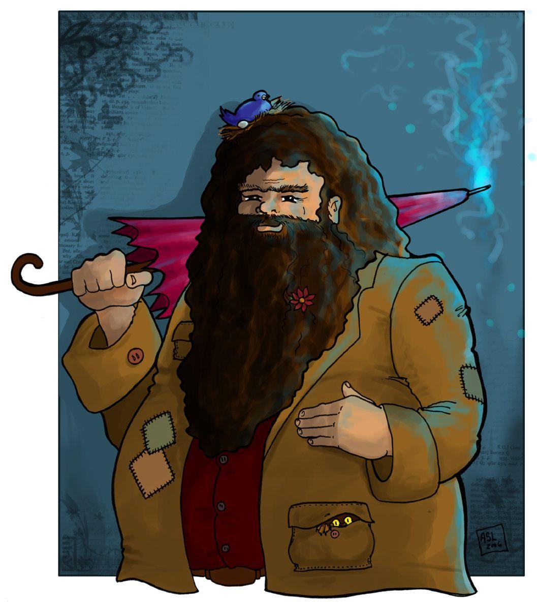 Hagrid by WhiteElzora on deviantART (With images