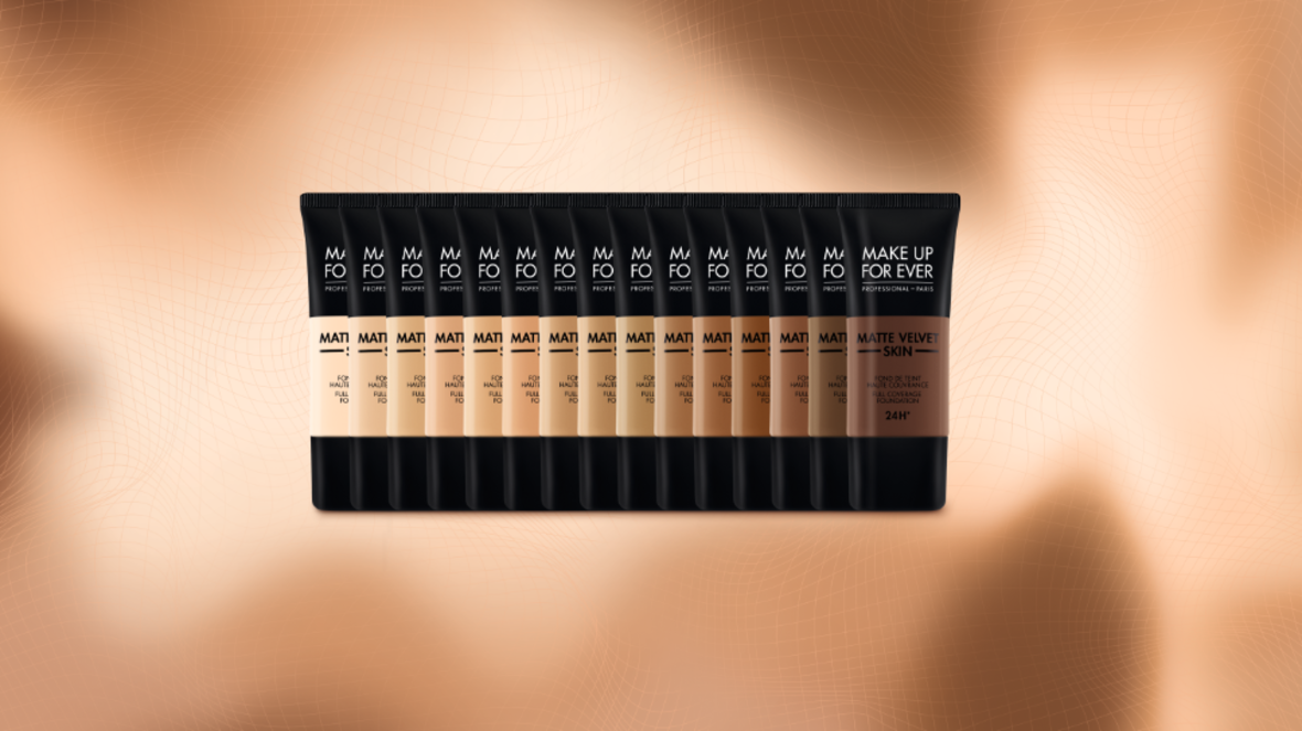 Make Up For Ever Just Launched a New Foundation That's