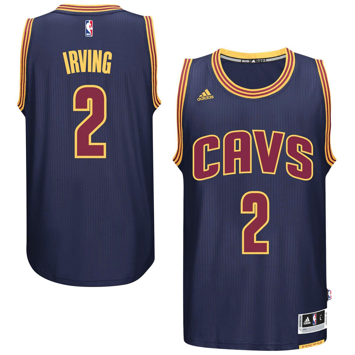 466127166 Kyrie Irving Cleveland Cavaliers adidas Player Swingman Alternate Jersey -  Navy -  87.99