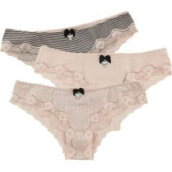 Photo of Pussy Deluxe 3er Set Panties Panty-Set Pussy DeluxePussy Deluxe