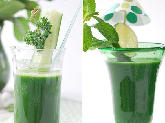 Groene drankjes