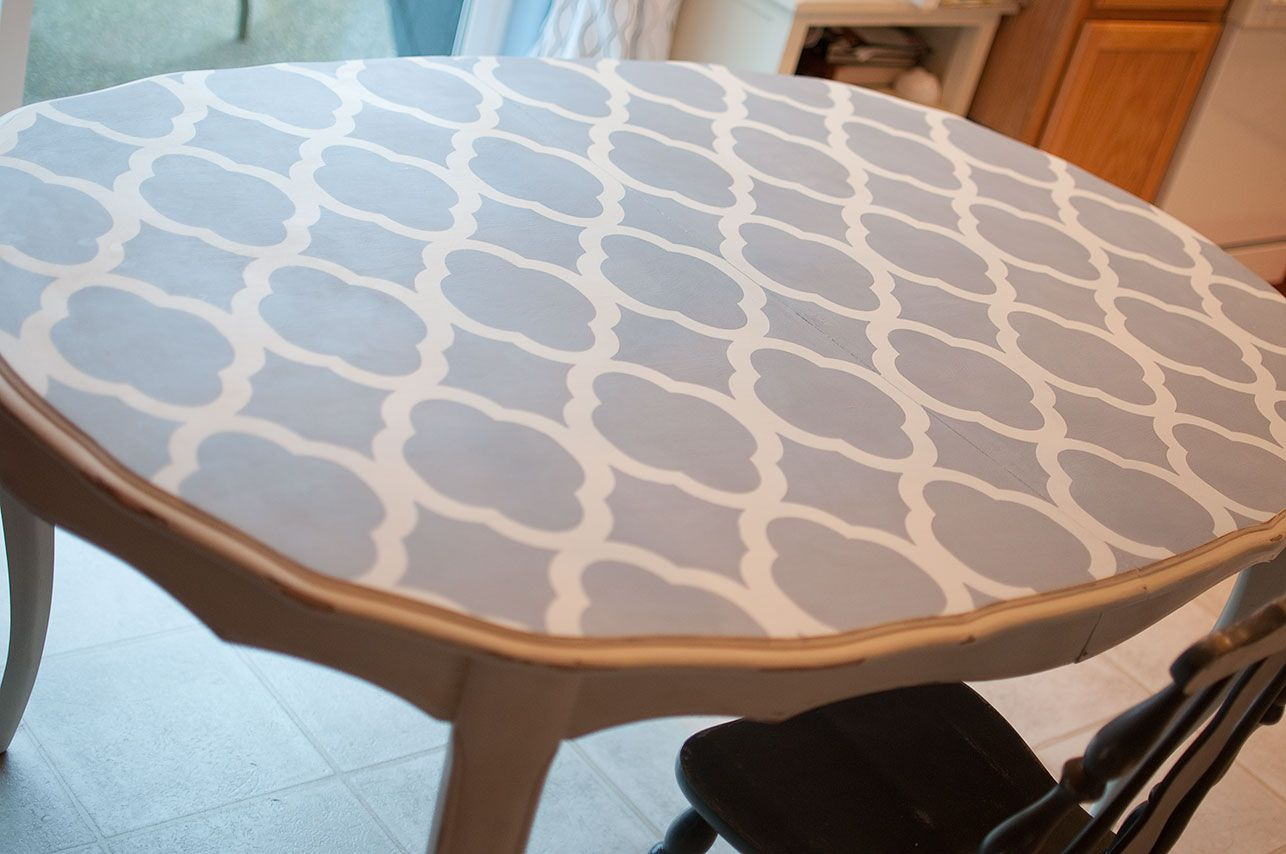 Little Gray Table: Kitchen Table Makeover