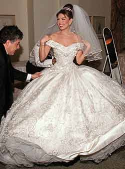 Thalia S Wedding Dress A Made For Princess Is Spanish Singer Actrees