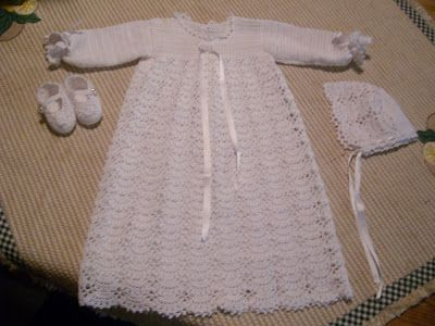 Risultati Immagini Per Vestiti Battesimo Uncinetto Baby Crochet