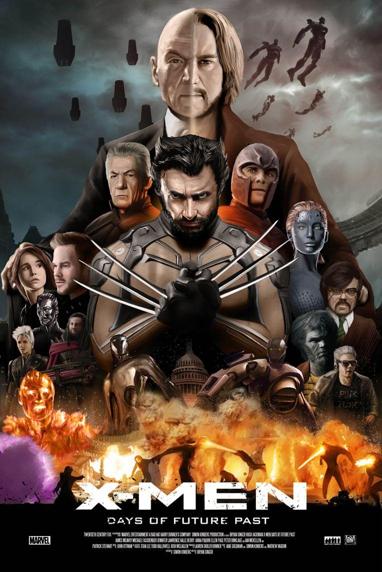 "X-MEN ""Days of the future past"" on Behance | X men, Marvel ..."