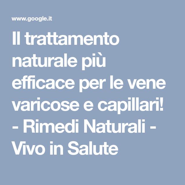 il trattamento naturale più efficace