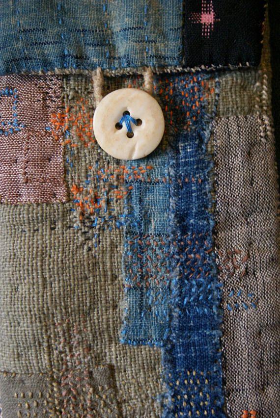 Pin de Mischi West en boro   Pinterest   Hechos y Costura