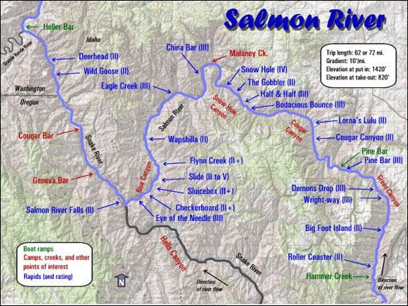 Salmon River Canyon Rafting Kids Float For Half Price