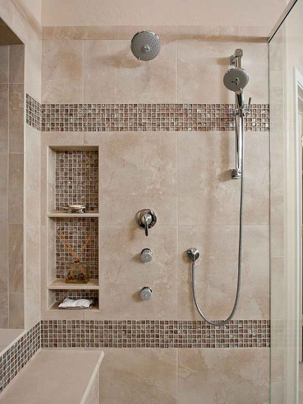 40 Beautiful Bathroom Shower Tile Design Ideas And Makeover Di