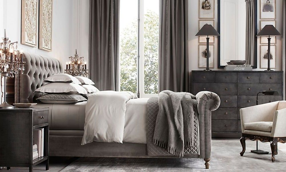 Restoration Hardware Bedrooms 1930S French Mirrored Bedroom Collection  Restoration Hardware .