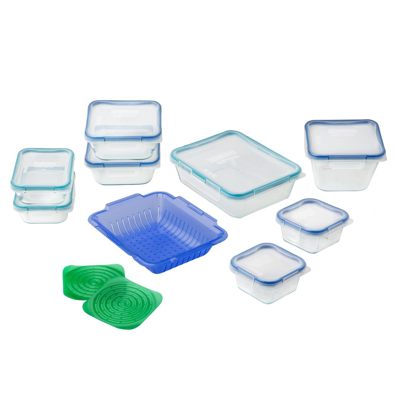 Snapware® Total Solution™ Pyrex® Glass Food Storage 19-pc Set - Shop ...