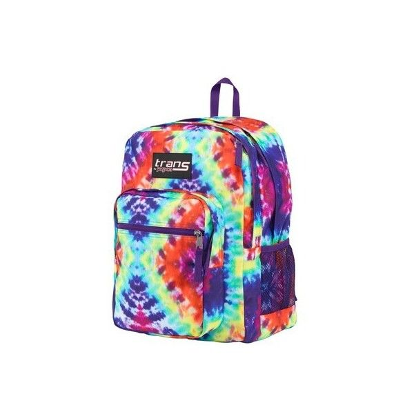 2f113a9e87c3 Trans By JanSport SuperMax Multi Hippie Days ( 35) ❤ liked on Polyvore  featuring bags