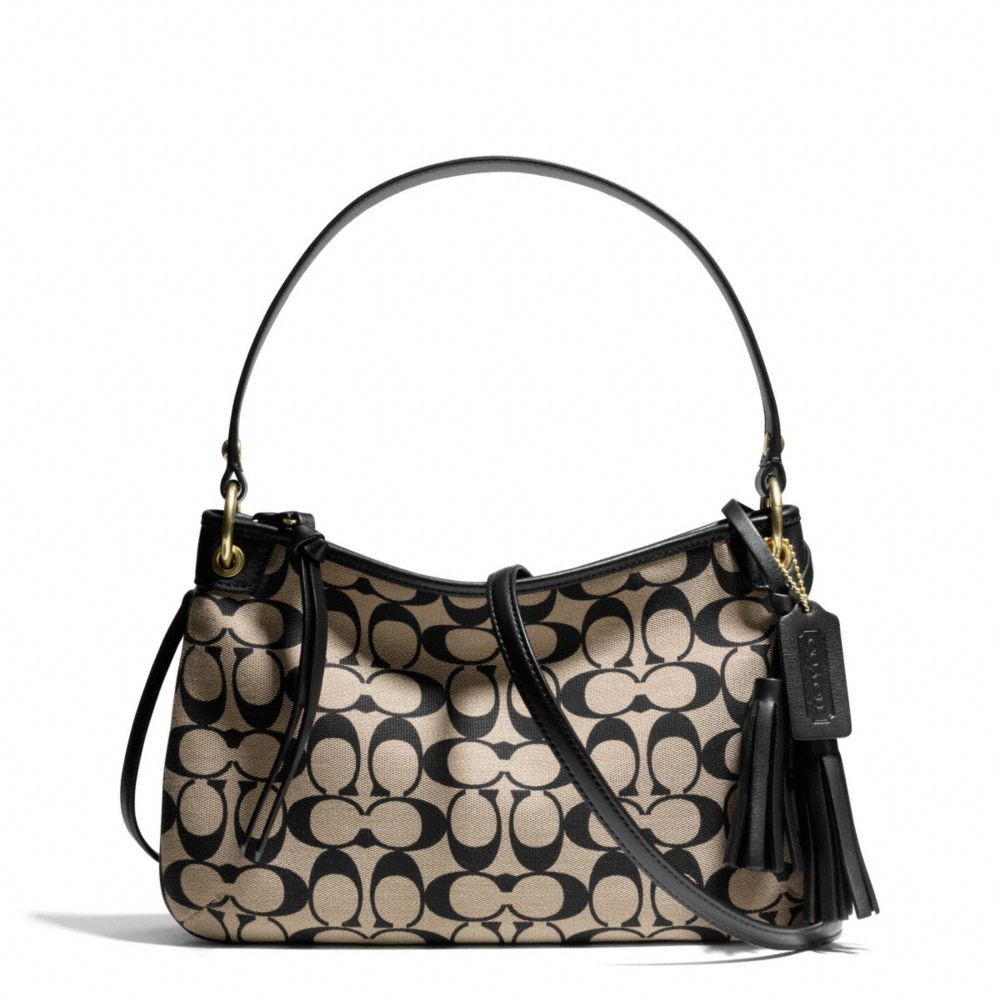 The Legacy Double Gusset Crossbody In Printed Signature Fabric from Coach 0026353e1e933