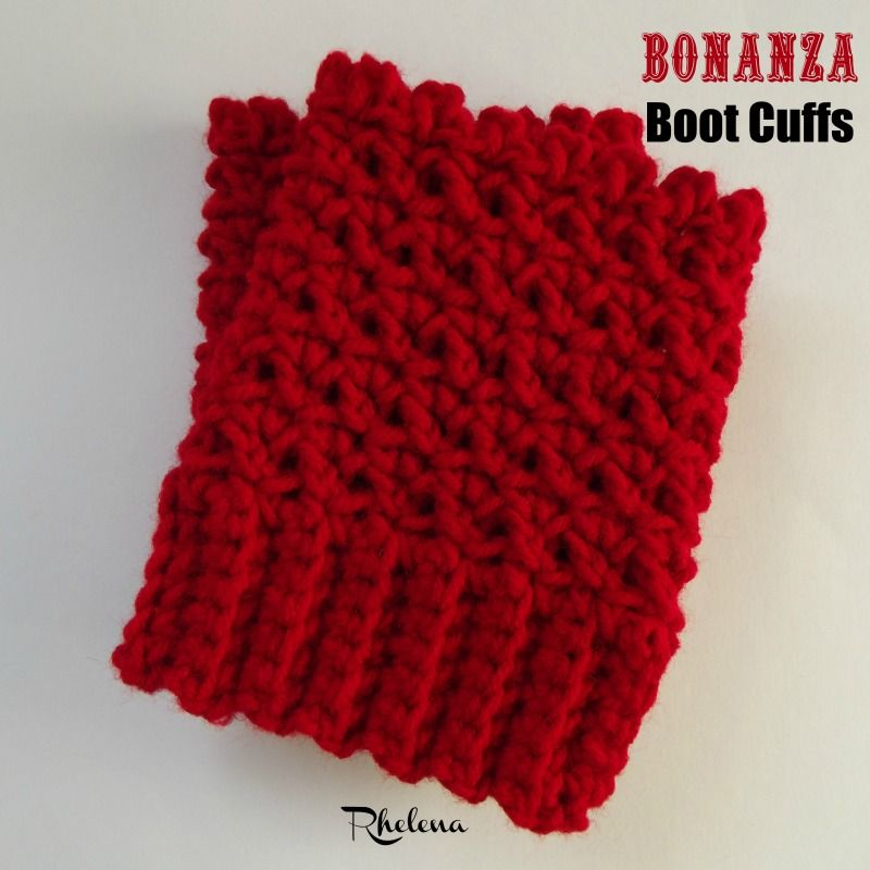 The Bonanza Boot Cuffs