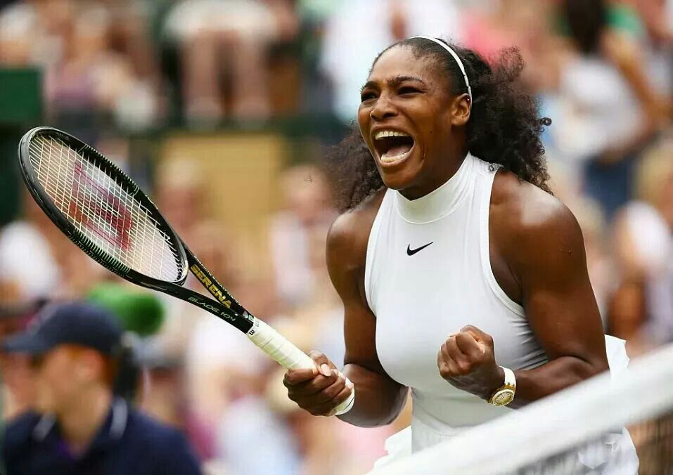 Play Hard #Serena Williams