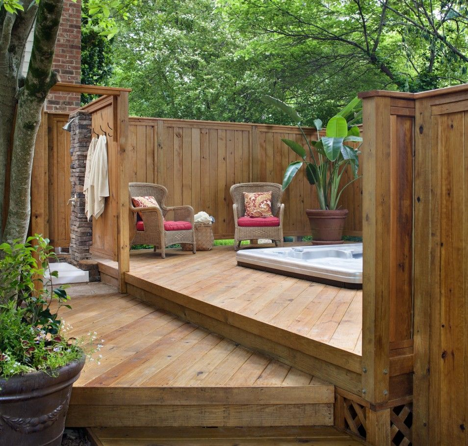 Pool Privacy Screen Ideas best backyard spa ideas in the world backyard spas and hot tubs