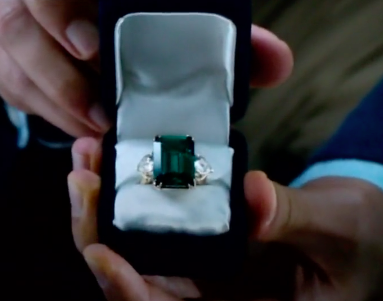Jackie Kennedy Engagement Ring The Enchanted Manor