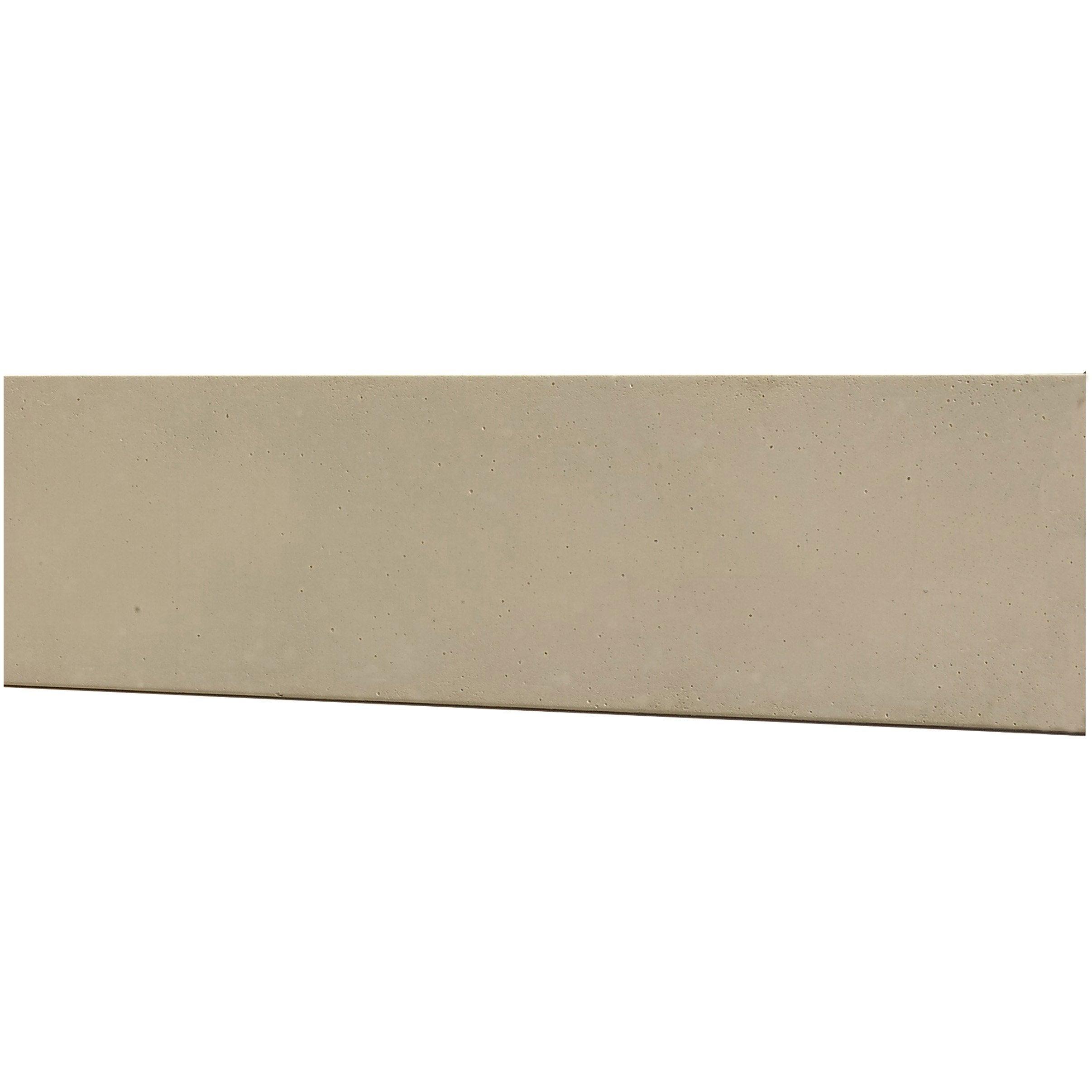 Plaque Beton Cloture Leroy Merlin plaque pour clôture droite en béton pleine, l.192 x h.50 cm
