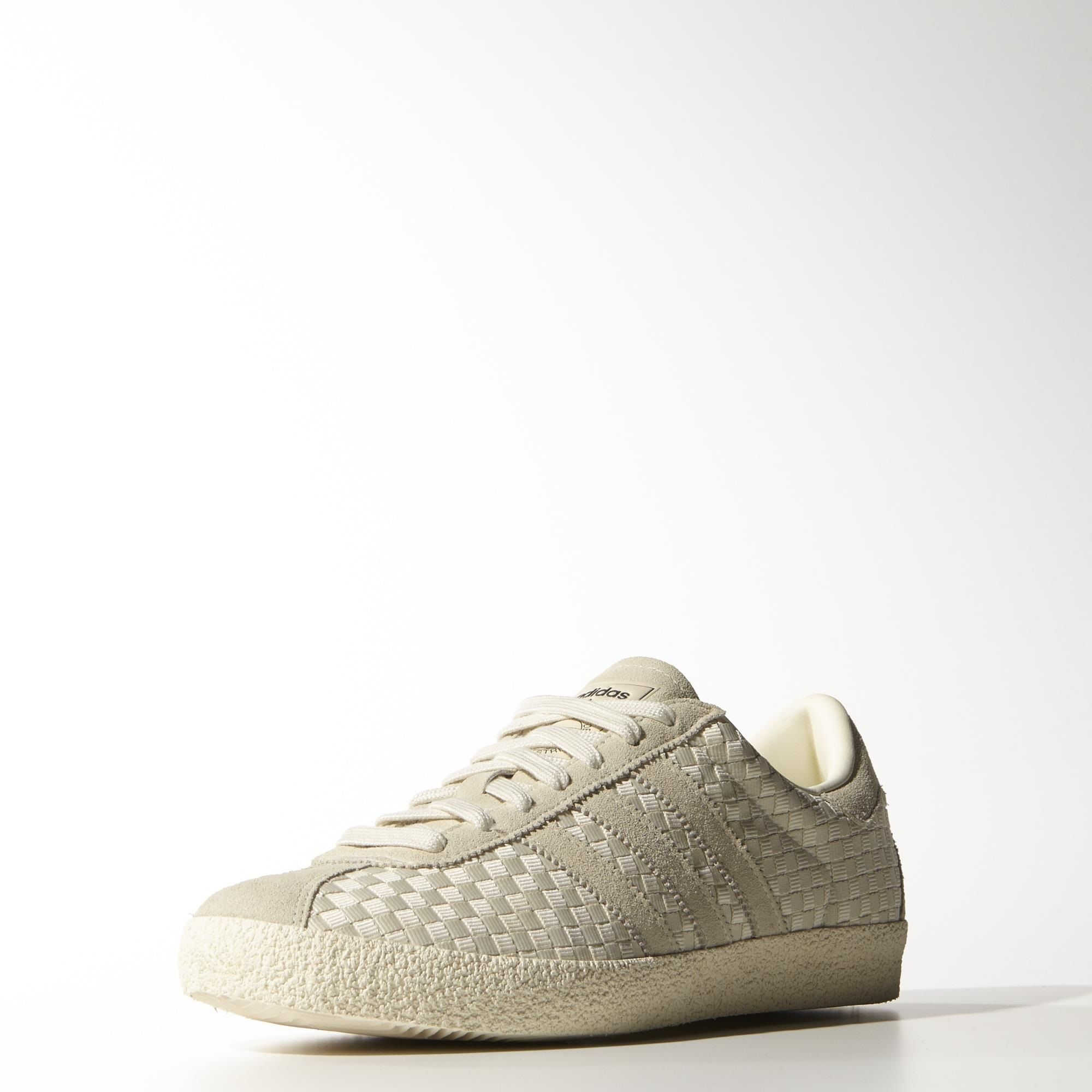 adidas - Gazelle 70s Shoes Cream White / Cream White / Core Black M19619 |  Tags