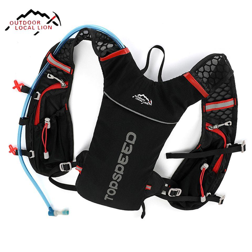 5L Bicycle Cycling Rucksack Backpack Hydration Pack Helmet Water Bladder Bag