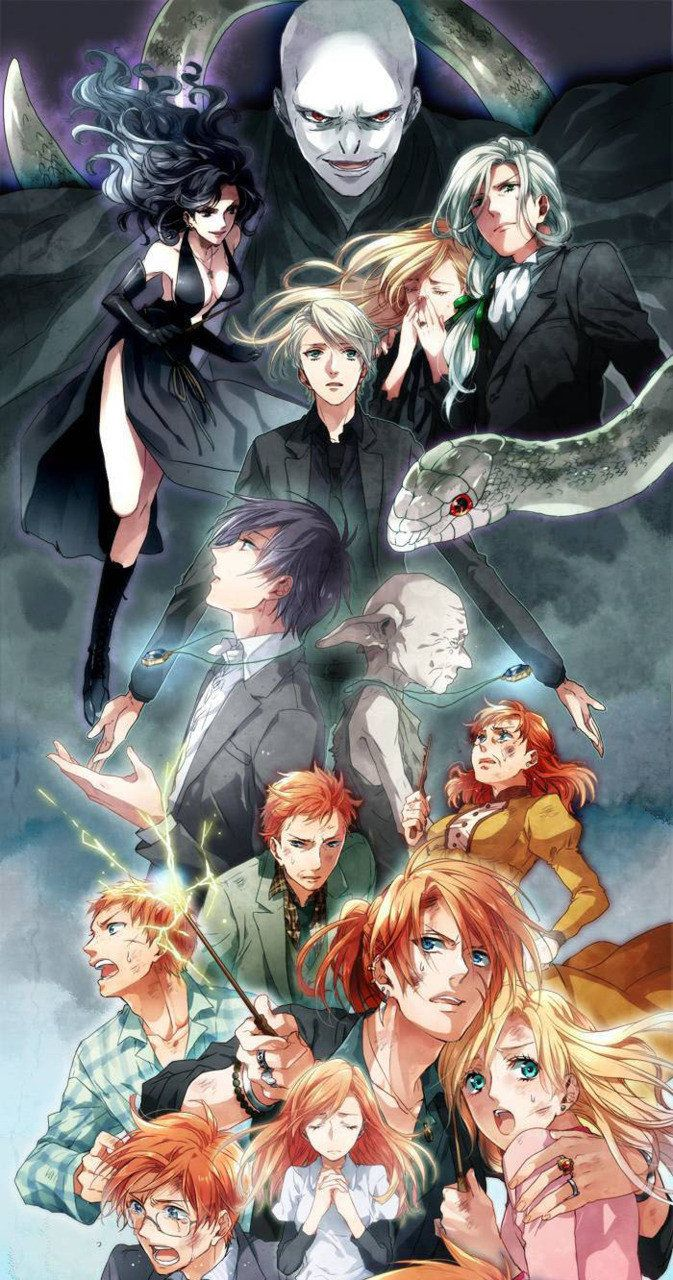 Harry Potter As An Anime Harry potter anime, Harry