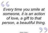 So smile