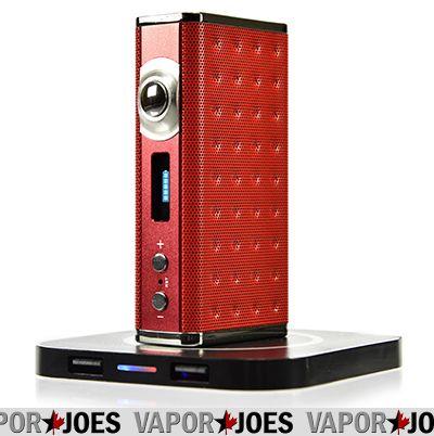 Vapor Joes - Daily Vaping Deals: WIRELESS CHARGING: THE EIFFEL T1 165 WATT / TC BOX MOD - $68.85