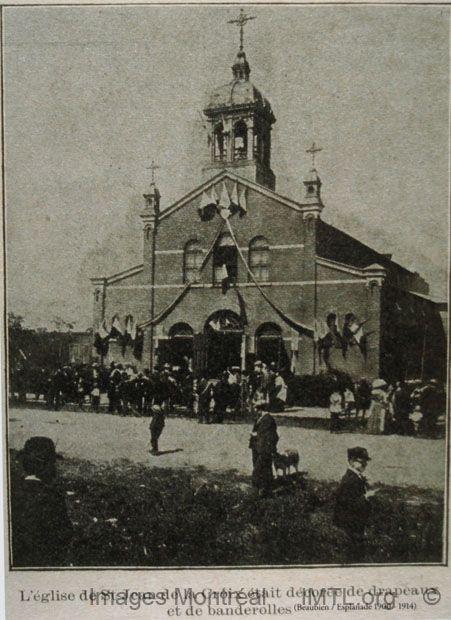 Saint-Jean de la Croix First Church, montreal .  building demolished
