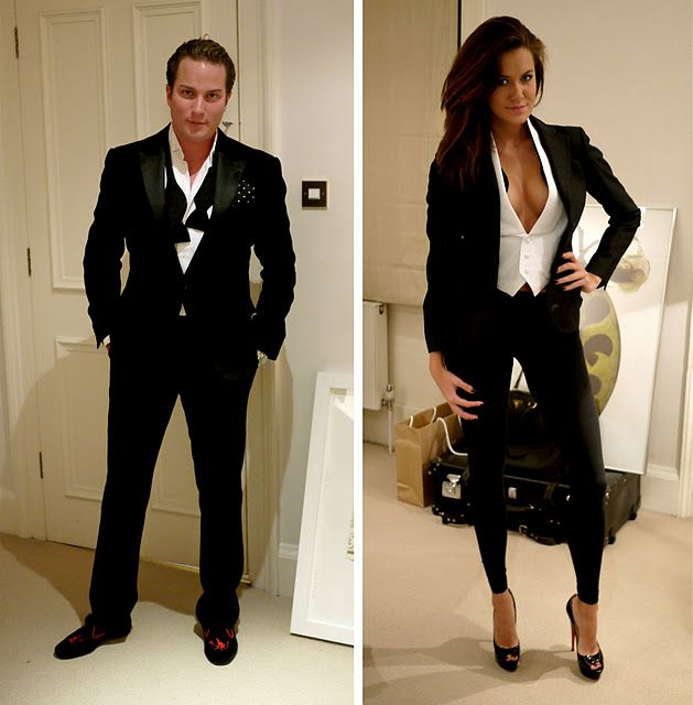 His n Hers tuxedos