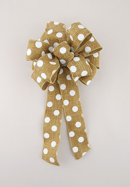 DIY: How to Tie a Loopy Bow  This site is amazing! So easy to understand and make a beautiful bow. Cant wait to get started! #howtomakeabowwithribbon