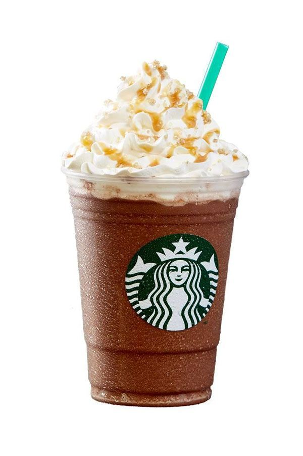 What Starbucks Frappuccinos Used To Look Like Salted Caramel