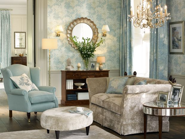 Opulent Operetta Laura ashley Living rooms and Room