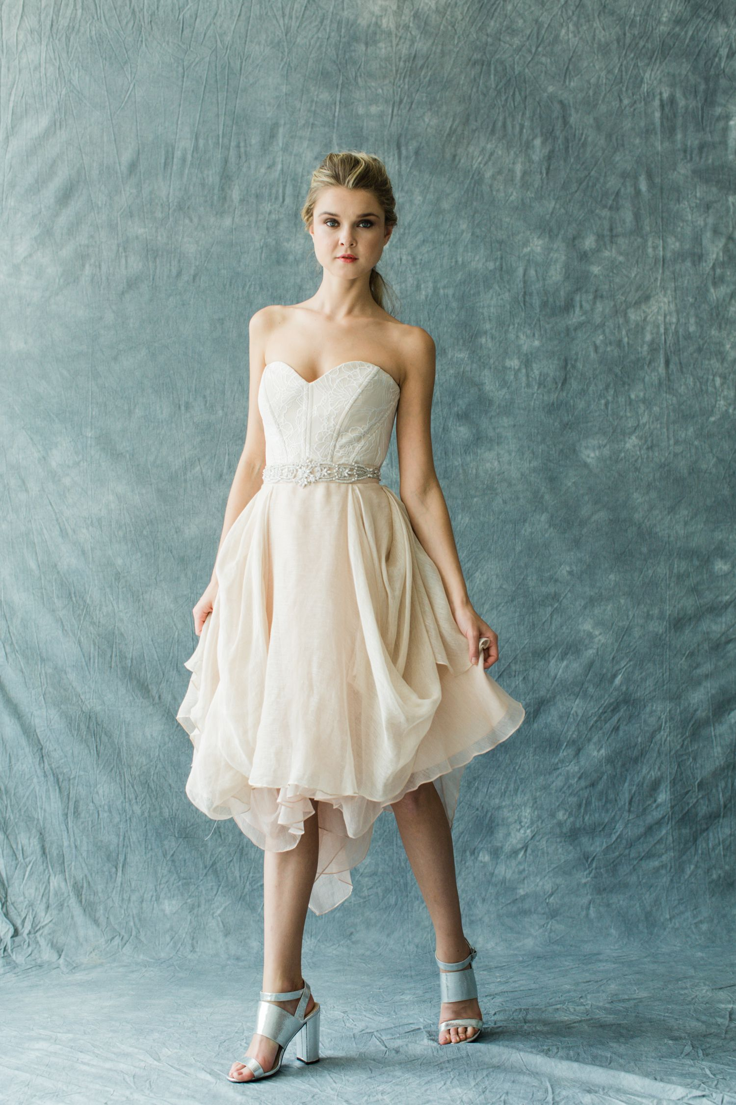 Kensington Shorty // Blush/Champagne | Pinterest | Open weave, Linen ...