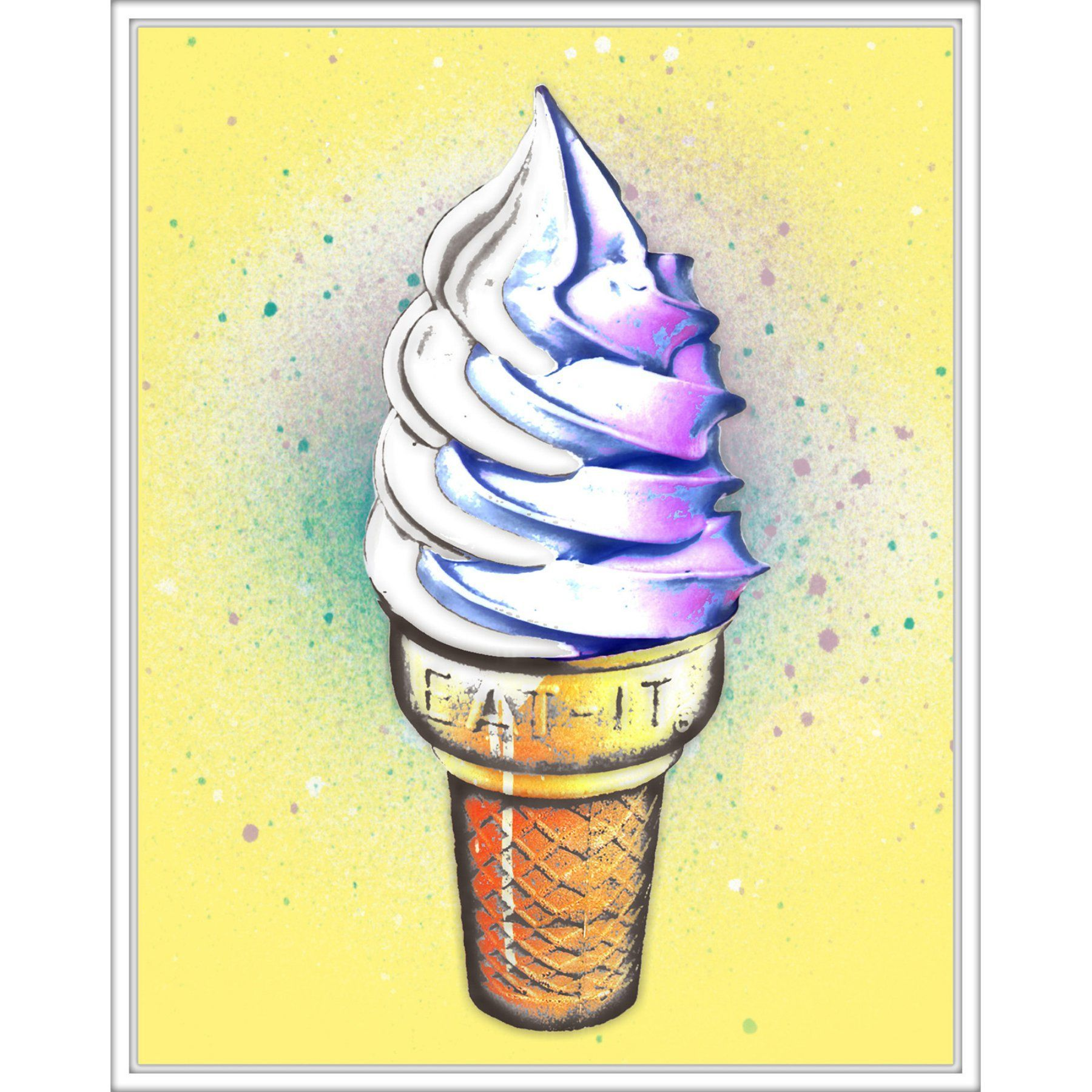 Unique Ice Cream Wall Art Mold - Wall Art Collections ...