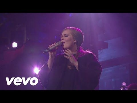 Adele Make You Feel My Love Live On Letterman Youtube