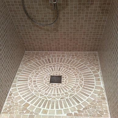 duchaobra decorada baos pinterest baos duchas y platos de ducha