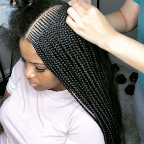 Lemonade Braids With Accessories Rings #braids #lemonadebraids ❤ Wearing lemonade braids is an awesome way to make all heads turn. So no wonder Beyonce loves to pull it off! Dive in our protective hairstyles gallery and see how awesomely you can sport the braids: cool medium styles with beads, large braids with ombre, small feed in braids into ponytails, and lots of inspo-pics are here! ❤ #lovehairstyles #hair #hairstyles #haircuts # ombre fulani Braids Lemonade Braids That Make Your Hair Style