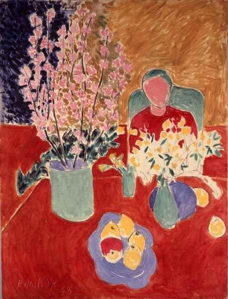 Matisse, Plum Blossoms, 1948.