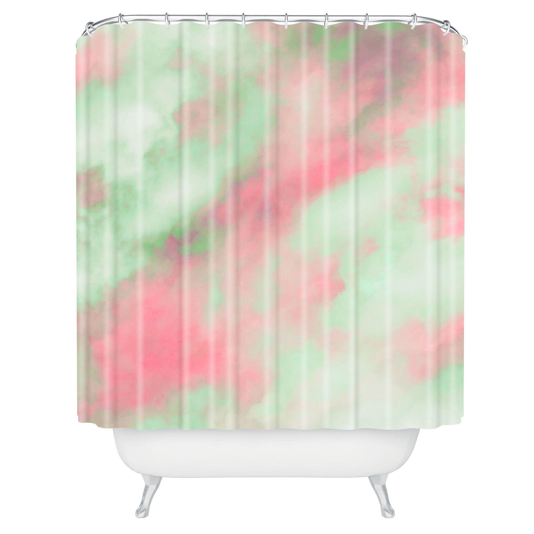 Dr Seuss Shower Curtain - Caleb troy pastel christmas shower curtain