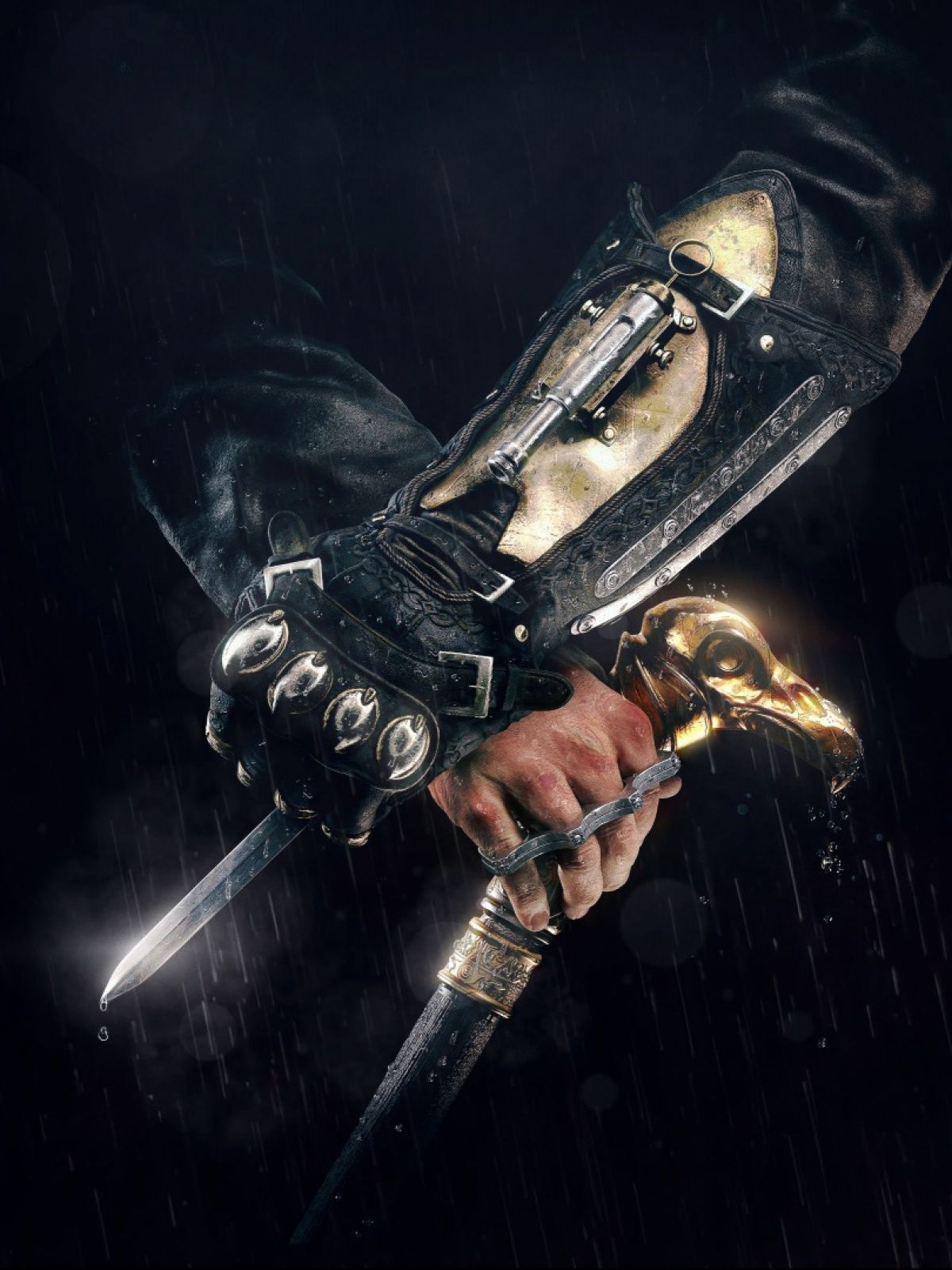 Assassins Creed Syndicate Hidden Blade Game Mobile Wallpaper