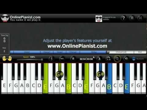 Jason Mraz I Wont Give Up Piano Tutorial Video Piano Tutorials