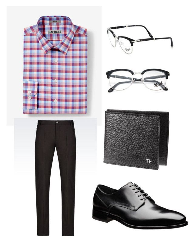 """""""Church"""" by giaai on Polyvore featuring Express, Emporio Armani, Persol, men's fashion and menswear"""
