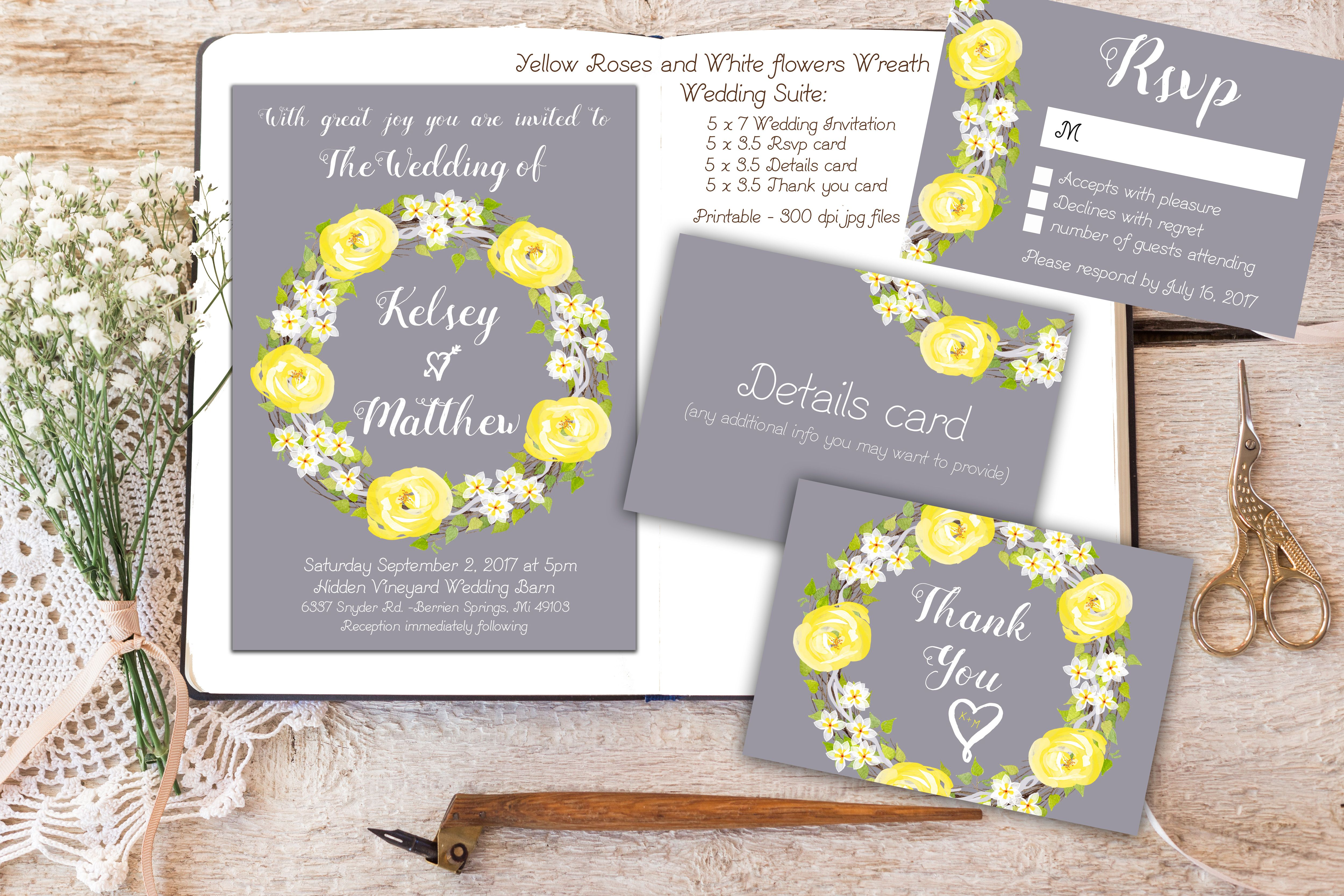 This Item Is Unavailable Etsy Yellow Wedding Invitations Grey Wedding Invitations Printable Wedding Invitations
