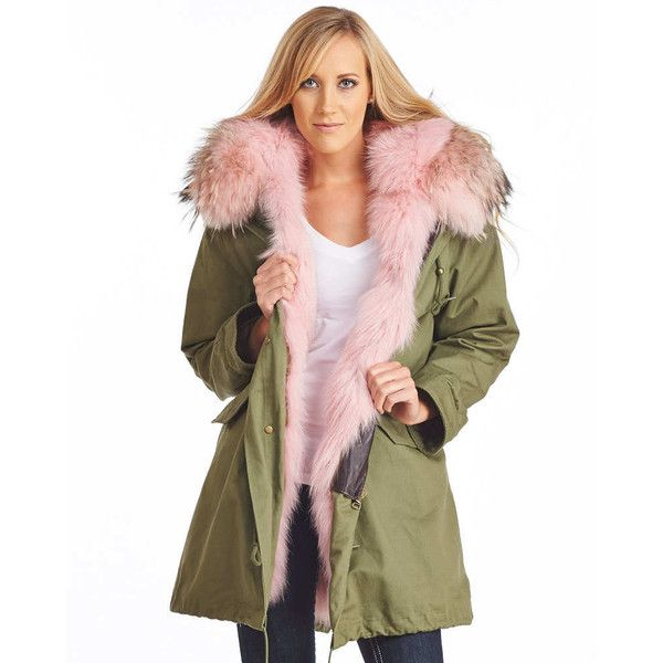 Military Parka With Fur Hood
