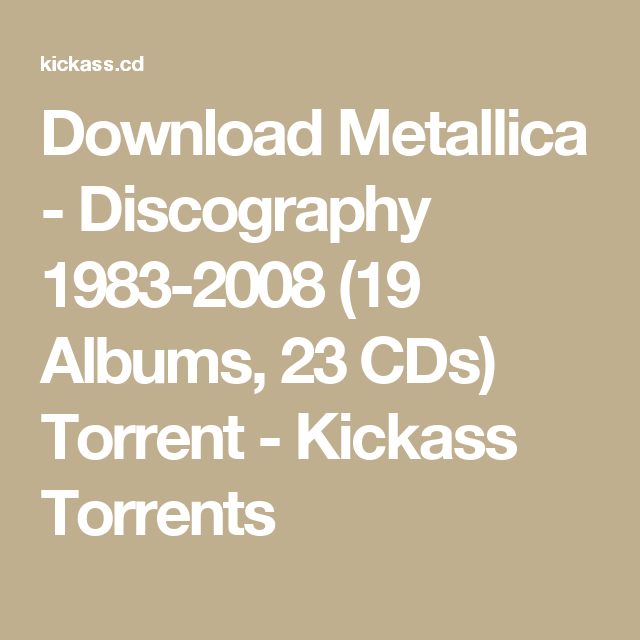 Kickass torrent foo fighters greatest hits - mawaporto