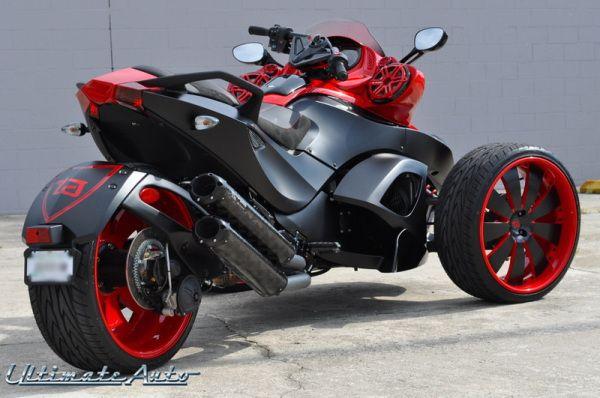 Can Am Spyder Custom Car Gallery Orlando Fl