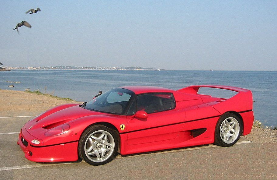 Debuting in 1995 the F50 marked Ferrari's 50th anniversary. They were built through 1997. 349 were made.