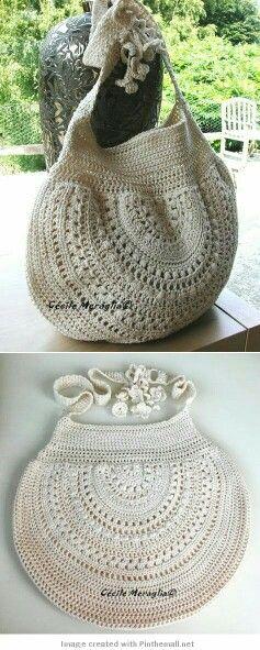 Pin von Rosi Balle auf Crochet:bolsos para dama | Pinterest ...