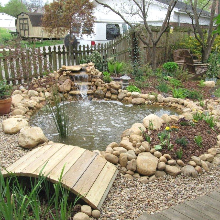 Beautiful Garden Pond Ideas You Can Create To Accent Your Backyard Garden Pond Designs Designs No 136 Ponds Backyard Small Backyard Ponds Pond Landscaping